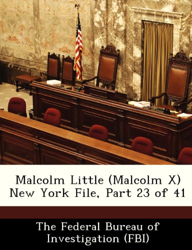 Malcolm Little (Malcolm X) New York File, Part 23 of 41
