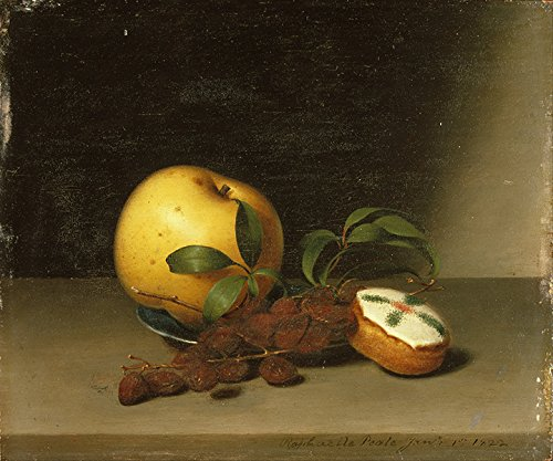 """Raphaelle Peale Still Life With Cake vintage Stampa Fine Art, laccato carta/carta, Up to 594mm by 841mm or 23.4"""" by 33.1"""""""