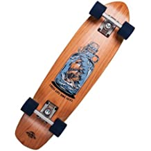 Dstreet Cruiser Cherry Loose Lips Longboard, Unisex Adulto, marrón (Natural), ...