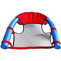 BECO Asiento de piscina para niños que se utilizará con tubos flotantes, rojo