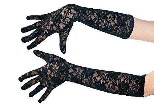 Boland 03002 - Handschuhe Milan, Einheitsgröße, schwarz