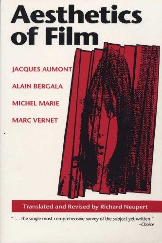 Portada del libro Aesthetics of Film (Texas Film Studies Series) by Jacques Aumont (1992-07-01)