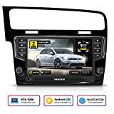 NEOTONE WRX-906G7 Autoradio für VW Golf 7 (ab 2012 -) Can-Bus integr. | Navigation mit Europakarten 2019 | DAB+ | 4GB Arbeitsspeicher | 32GB ROM | Octa-Core | 4K Ultra HD | WLAN | Bluetooth | RDS
