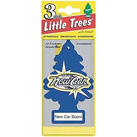 Little Trees Car Air Freshener, New Car