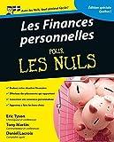 Finances personnelles éd. québecoise, 2e pour les Nuls...