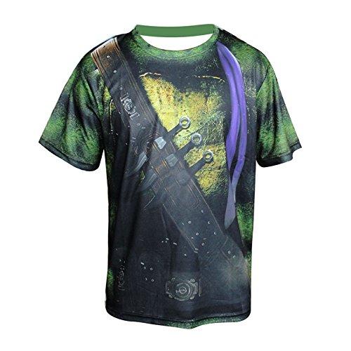 TeyCo Men Creative Trend Sportswear T-Shirt L
