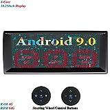 XISEDO 10.25 Zoll Bildschirm 8 Core Android 9.0 Autoradio RAM 4G ROM 64G In Dash Radio mit Navi Moniceiver GPS Navigation für BMW 5-E39/BMW X5-E53/Range Rover (mit Lenkrad-Steuertasten)