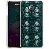 Samsung Galaxy A3 (2016) Housse Étui Protection Coque Thomas Hanisch Ornements Noir et blanc