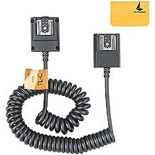 Godox TTL Fuera Cámara Hot Shoe Flash Sincronización Cable Cuerda para Canon Speedlite Como OC-E3 (TTL-C)
