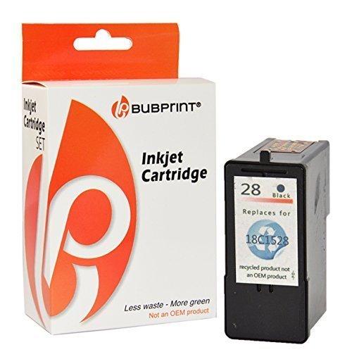 Bubprint Druckerpatrone kompatibel für Lexmark 28 XL - Lexmark Tintenpatrone 28