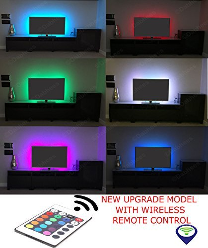 Multi-colour RGB 50cm 19.7in USB LED Strip Light LED TV Background Lighting Kit With USB Cable 30 PCS SMD 5050 ULTRA BRIGHT **2 YEARS WARRANTY** BLACK LED STRIP