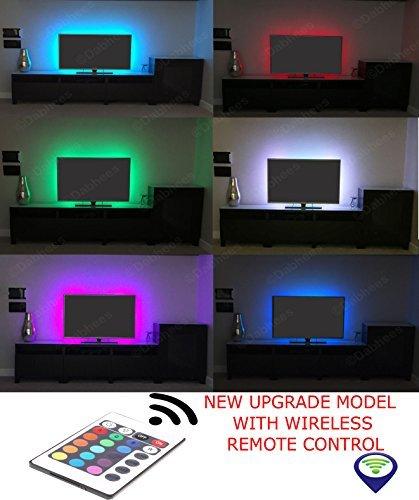 Multicolor RGB 50cm 50cm USB LED Luz De Tira LED TV Fondo Kit De Iluminación Con USB Cable 30 PC SMD 5050