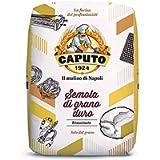 Caputo semola di Grano Duro rimacinata durum Wheat Semolina 1 KG