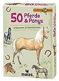 moses. Expedition Natur - 50 Pferde und Ponys| Bestimmungskarten im Set | Mit spannenden Quizfragen