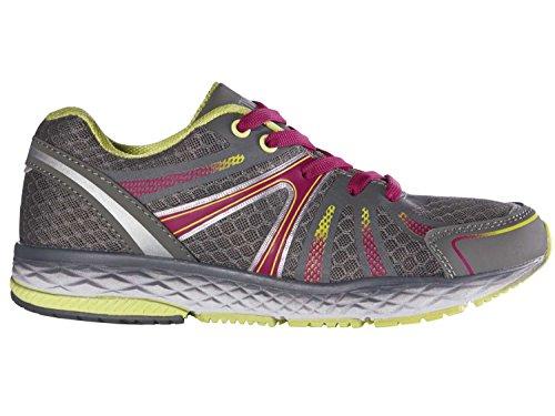 Damen Sportschuhe Laufschuhe Walkingschuhe Atmungsaktives Mesh kombiniert mit strapazierfähigem Synthetik Grau/Gelb