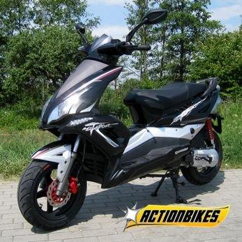 Matador Scooter JJ50QT-17 50cc 2 Takt 45 km/h Mofa Roller