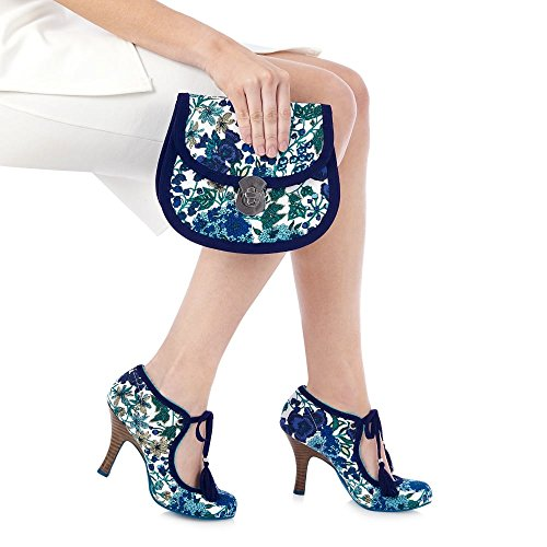 Ruby Shoo Willow Damen Pumps Blau