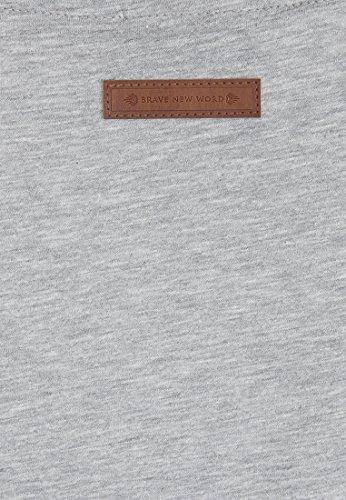 Naketano Female Shortsleeve Wolle X Grey Melange