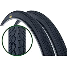 Par de Fincci carretera montaña híbrida neumático para bicicleta neumáticos 700 x 35 с 37-622