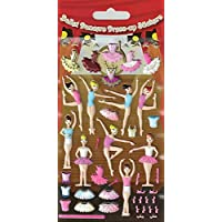 Paper Projects 01.70.19.006 Ballerinas Kidscraft Sticker Pack