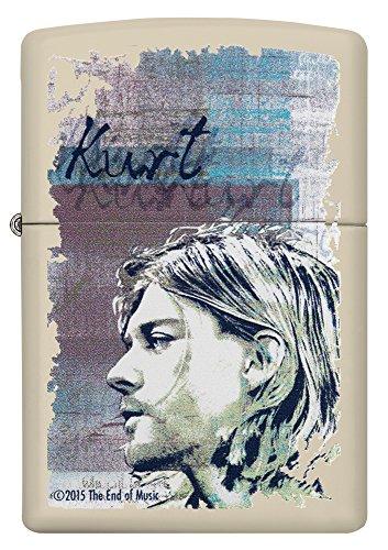 Zippo 60.002.308 Feuerzeug Kurt Cobain Collection Spring 2016, creme matte - 2