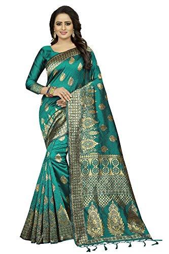 Indian Designer Collection Party Wear Saree Banarasi Silk Saree Saree Tradidtional Sari Wedding Wear Sari 93 - Saree Collection