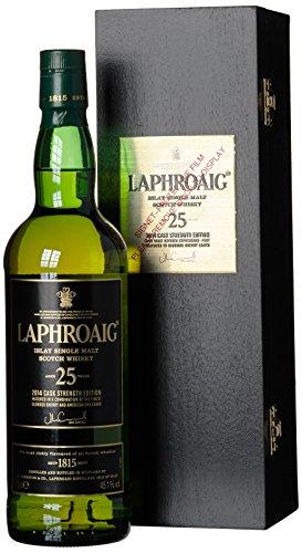 Laphroaig 25 Jahre Cask Strength Islay Single Malt Scotch Whisky (1 x 0.7 l)