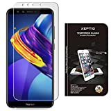 Huawei Honor 9 LITE 4G : Protection d'écran en verre trempé - Tempered glass Screen protector 9H premium / Films vitre Protecteur d'écran verre trempé Huawei Honor 9 Light smartphone 2018 - Version intégrale avec accessoires - Prix découverte Accessoires XEPTIO
