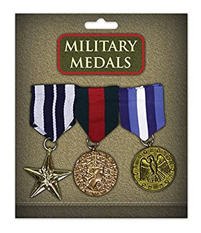 Game Night Costume Ideas - Military Medals (3