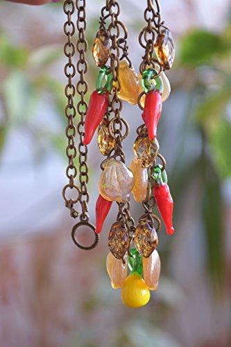 beaded-necklace-summer-glass-bed-jewelry-lampwork-necklace-fruit-garden-vegetable-harvest-nature-foo