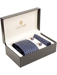 Cazzano Checkered Men's Tie Set (TCPNC151)