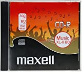 Maxell CDR 80MIN 700MB AUDIO CD-Rohling
