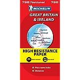 Carte NATIONAL Grande Bretagne & Irlande Indchirable
