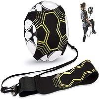 Nv Wang Futbol Trainer,Entrenador de Fútbol Solo Banda Elástica para Entrenamiento de fútbol Soccer Skill Trainer Kit Universal Se Adapta a # 3# 4# 5 Balones de Futbol para Ninos Adultos