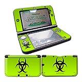 Nintendo 3DS XL Skin Design Foils Aufkleber Schutzfolie Set - Biohazard Motiv