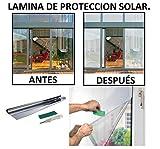 LAMINA DE PROTECCION VINILO SOLAR EFECTO ESPEJO EVITA CALOR PROTECCION TERMICA, DE PRIVACIDAD, RAYOS UV, VINILO, FLIM, CALOR, SOL