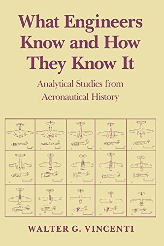 What Engineers Know and How They Know It: Analytical Studies from Aeronautical History (Johns Hopkins Studies in the History of Technology) por Walter G. Vincenti