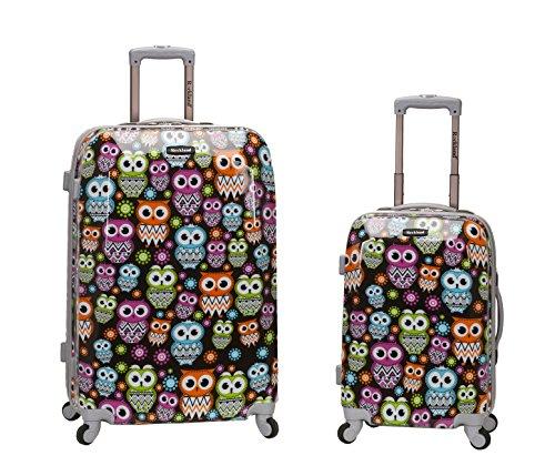 rockland-2-piece-upright-luggage-set-owl-one-size