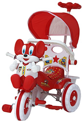 Amardeep 1522MZ Baby Tricycle, Red
