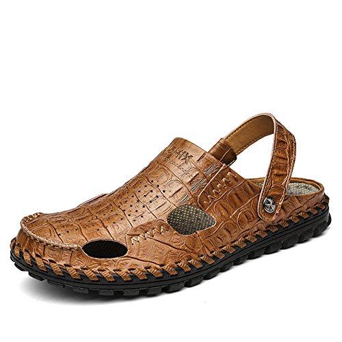Sandali In Pelle Per Uomini Estivi/Dual-purpose Scarpe Da Spiaggia Cool Drag C