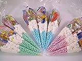 Pre Filled Sweet Cones Kids Party Bags Starmix Tangfastics Children's Birthday (25 Cones)