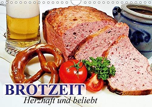 Brotzeit. Herzhaft und beliebt (Wandkalender 2020 DIN A4 quer): Zünftige Schmankerl aus der bayerischen und österreichischen Kultur (Geburtstagskalender, 14 Seiten ) (CALVENDO Lifestyle)