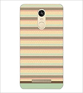 PrintDhaba Tribal Pattern D-1737 Back Case Cover for XIAOMI REDMI NOTE 3 (Multi-Coloured)