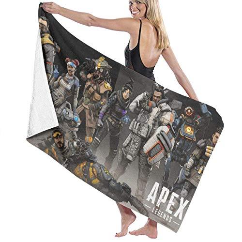 FSTGF AP-EX Strandtuch aus Baumwolle saugfähig Badetücher schnell trocknend Decke für Damen, Kinder, Herren