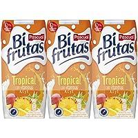 Bifrutas Tropical refresco con Leche y Zumo de Frutas - Pack de 3 x 33 cl