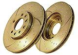 EBC Brakes GD932 Bremsscheiben Turbo Groove Disc