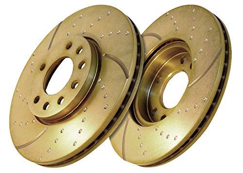 Preisvergleich Produktbild EBC Brakes GD651 Bremsscheiben Turbo Groove Disc