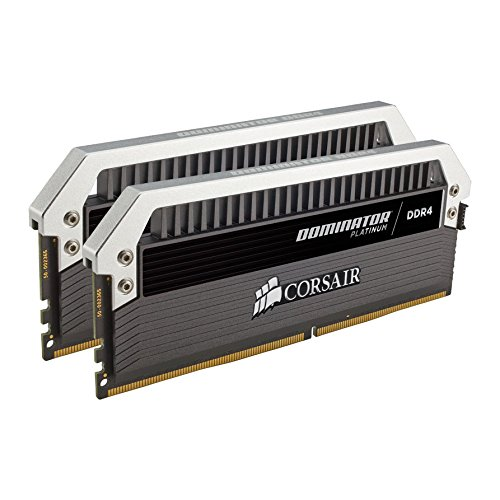 Corsair Dominator Platinum DDR4 Hochleistungs-Arbeitsspeicher Kit (32GB (2x16GB) 3200 MHz C16 XMP 2.0)