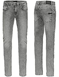 RVLT Revolution Slim Denim Jeans Bleach
