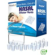 Anti Snoring Devices - Nasal Dilator (8) Stop snoring Aids | Sleep Apnea Relief and Aids Nasal Congestion | Nose Vents and Snore Stoppers | Dilators - Anti Snoring solution & Sleep Apnea Relief
